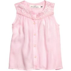Sleeveless Blouse with Lace $14.99