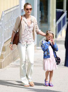 Heidi Klum and Leni Klum by http://www.wikilove.com