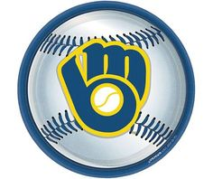 Milwaukee Brewers Lunch Plates 18ct - Sports - Clearance Event - Theme Parties - Categories - Party City