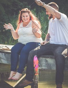 fishing gender reveal. PINK FISH @boogm76 @turningtidesphotography