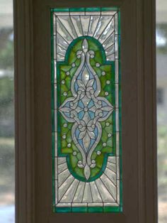 DS34 Barbara Sabia Stained Glass  Door