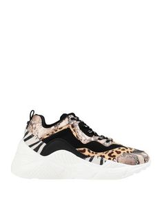 Snakeskin print Techno fabric Contrasting applications Animal print Laces Round toeline Wedge heel Fully lined Rubber sole Contains non-textile parts of animal origin Steve Madden Sneakers, Steve Madden Style, Wedge Heels, Techno, Shoes Sneakers, Slip On, Footwear, Wedges, Animal