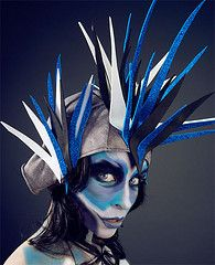 Really like the color and texture combo in the headdress.