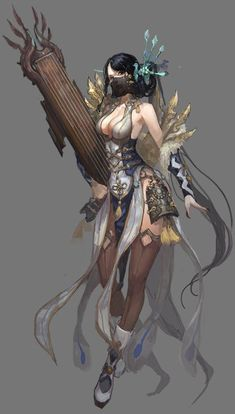 ★★★ one thousand video tutorial feast http: // ww . Female Character Concept, Fantasy Character Design, Character Design Inspiration, Character Art, 3d Fantasy, Fantasy Warrior, Fantasy Girl, Fantasy Women, Fantasy Characters