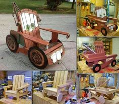 Tow Mater Chair