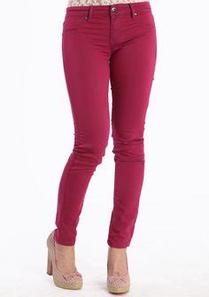 Fuchsia Dreams Skinny Pants at #Ruche @shopruche