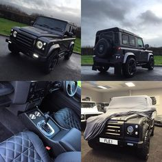 Bespoke Defender GT ready for delivery to the capital tomorrow full GT exterior…