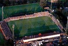 Het oude stadion, Sportpark Noord.