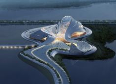 The Newly Completed Harbin Opera House By MAD Architects