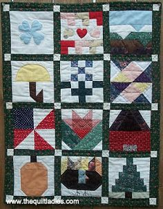 Holiday Block of the Month Quilt