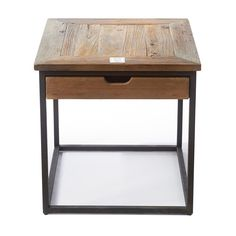 Riviera Maison Shelter Island End Table With Drawer
