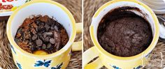 Chocolate Nutella {2-Minute} Mug Cake