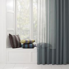 Sheer Curtain Fabric ripplefold curtains in sheer grey fabric | home | pinterest | grey