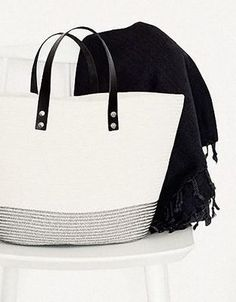 Tutorial fai da te: Come fare una borsa in corda con manici di pelle via DaWanda.com