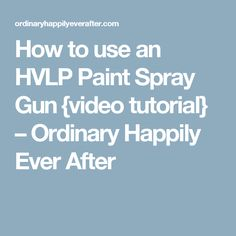 32 Best HVLP Spray Systems-Ned images in 2017 | Hvlp paint