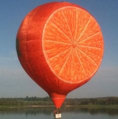 Bart's Special Shape Collection - Special Shape Hot Air Balloons for sale Flying Balloon, Love Balloon, Kite Flying, Hot Air Balloon, Tangerine Color, Orange Color, Color Wars, Air Ballon, Orange You Glad