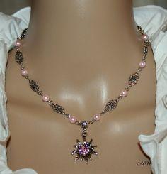 Halskette mit Edelweiß von Edelweiss51 auf Etsy