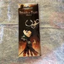 Attack on Titan Levi Key Chain. So cute but yet so cool.