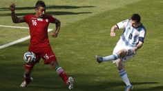 Lionel Messi Argentina v Iran