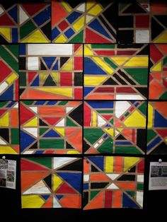 Ndebele House Painting; African Art. Cincinnati Children's Museum