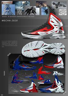 basketball shoe sketch