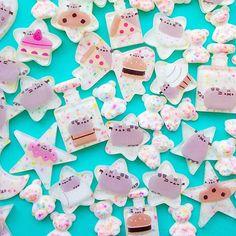Found extremely reasonably priced Pusheen stickers from @beauandbauble!  Don't forget to follow my decoden blog! Mowgen.tumblr.com!  #cabochon #pusheenbox #decoden #pusheen #resin #fatcat #grumpycat #cuteart #charms #catscatscats #miniatures #catsofinstagram #gudetama #rilakkuma #galaxies #スイーツデコ #pastel #sweetsdeco #resinart #kawaiiart #fairykei #japanesecandy #fatcat #hellokitty #kawaii #makersgonnamake #neko #handmadewithlove #resinpieces #樹脂