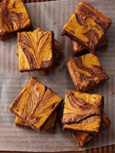 Balaboosta's Bakery  Pumpkin Swirl Brownies  $29.95