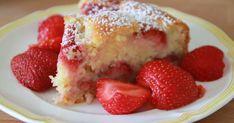 Basteltante Nina: Erdbeer-Joghurt-Kuchen