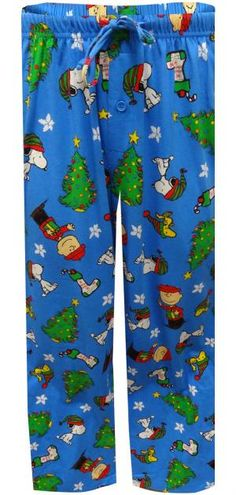 Peanuts Snoopy And Charlie Brown Christmas Loungepant