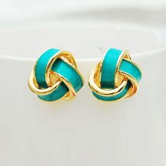 Geometry Spiral Multicolor Fashion Earrings Studs|Fashion Earrings - Jewelry&Accessories- ByGoods.com