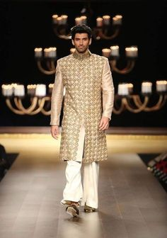 Aditya chopra and this goto work creme bandhgala...what's not to like :P #IndianWedding #groom #fashion | Curated by Witty Vows - The ultimate Guide for The Indian Bride | www.wittyvows.com