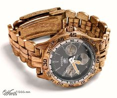 fossil wood watch