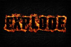 Check out Fire Text Effects for Photoshop by ultimatebundles on Creative Market