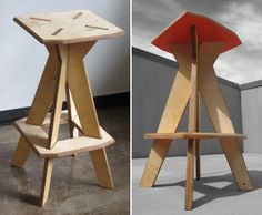 New Rado's Flat-Pack Intension Stools Surprise With Bold Pops of Color | Inhabitat - Sustainable Design Innovation, Eco Architecture, Green Building
