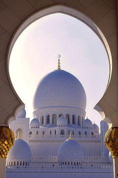 Sh. Zayed Mosque in Abu Dhabi - UAE