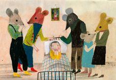 lovely illustration by Violeta Lopiz...
