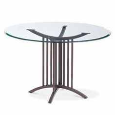 amisco robertson glass top dining table by amisco 32500 custom made pedestal each amisco table is custom made to suit your needs amisco newton regular footboard bed queen