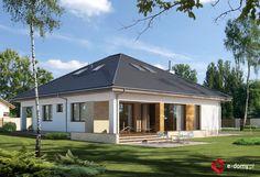 E-175 - E-DOMY.pl Projekty domów jednorodzinnych, piętrowych, energooszczędnych.