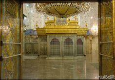 Imam Husayn Shrine, in Karbala, Iraq – la primera construcción es del siglo VII / En esta mezquita se encuentra la tumba de Husayn ibn Ali, segundo hijo de Ali (Ali Ibn Abi Talib) y de la hija de Mahoma, Fátima, cerca del lugar donde fue muerto durante la Batalla de Kerbala, en 680. Es una de las mezquitas más antiguas del mundo, considerado como uno de los grandes lugares de peregrinación del chiismo, tras La Meca y Medina