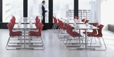 Cafeteria Table, Hospitality, Furniture, Reception, Chairs, Home Decor, Green, Ideas, Decoration Home