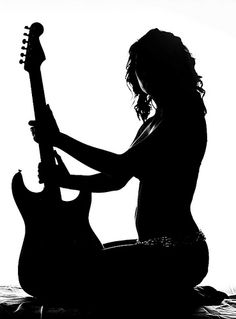 Guitars are so damn sexy  - How about a book about a sexy girl who could really rock-it  www.adealwithGodbook.com