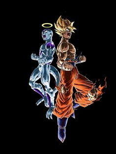 Freezer y Goku Dragon Ball Z, Dragon Z, Dbz, Hang Nguyen, Animes To Watch, Akira, Dragon Images, Awesome Anime, Wallpaper