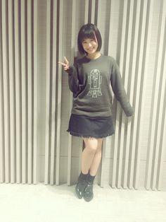 朝長美桜(HKT48/AKB48)のトーク 新世代トークアプリ755(ナナゴーゴー)
