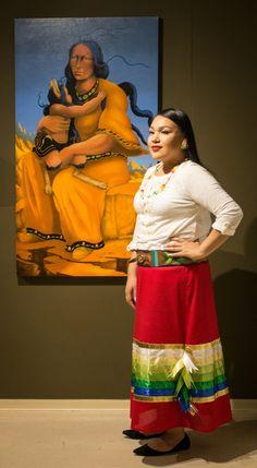 Great Lakes Woodland Skirts Fashion Show Native American Clothing, Native American Regalia, Native American Fashion, Native Fashion, Skirt Fashion, Fashion Show, Ribbon Art, Ribbon Flower, Traditional Skirts
