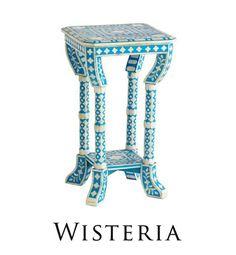 jodhpurtrends.com Bone Inlay Table From Wisteria