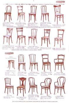 dining chair styles chart used restaurant chairs for sale design tip how to choose the perfect area rug home goodies epok thonet page des chaises du catalogue 1914 classic furniture