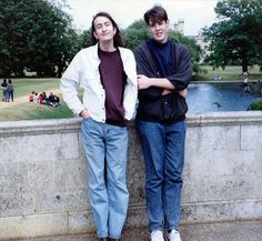 Mat Osman of Suede & Richard Osman
