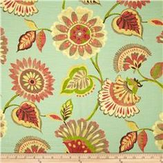 Swavelle/Mill Creek Ailey Floral Porcelain $20.98/yd