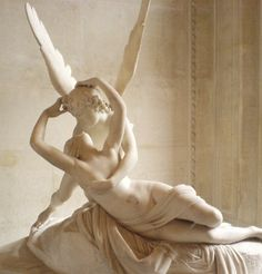 Eros and Psyche...together at last...  The most beautiful sculpture I have ever seen.