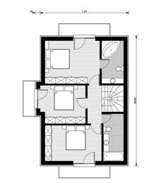 This domain may be for sale! Garage Plans, Design Case, Tiny House, House Plans, Floor Plans, How To Plan, Buget, Inspire, Creative